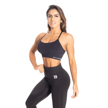 Better Bodies Podprsenka Seamless Short Black