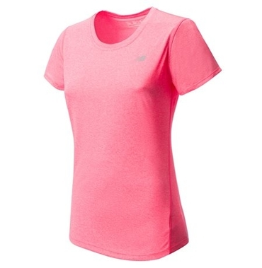 Tričko New Balance Ružové