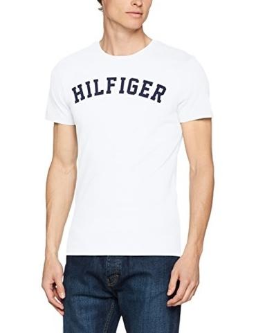 Tommy Hilfiger Pánske Tričko Iconic White