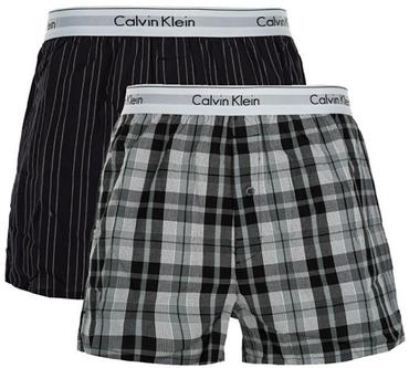 Calvin Klein 2 Pack Trenky Vzorované