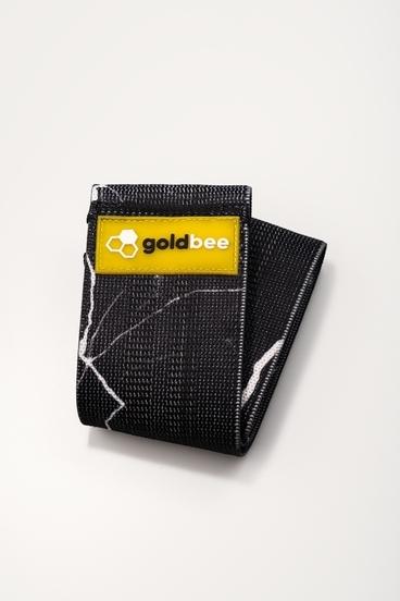 GoldBee Textilná Odporová Guma - Čierná Mramorova