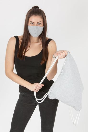 GoldBee Set Maska a Bag - Grey