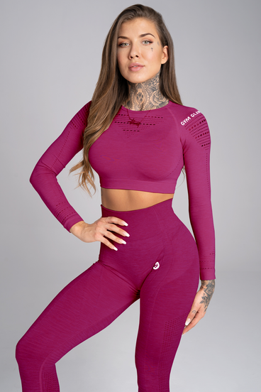 Gym Glamour Rashguard Jelly Berry