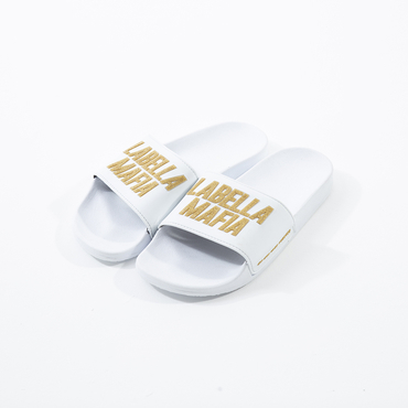 LabellaPantofle White/Gold