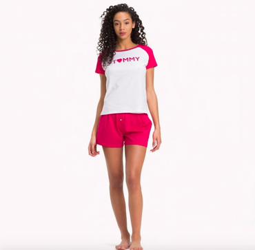 Tommy Hilfiger Pyžamo Set Love