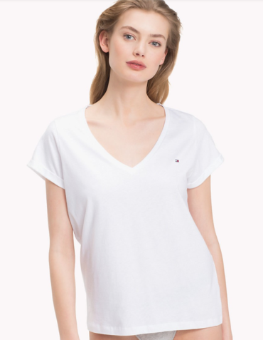 Tommy Hilfiger Women´s Pyjama Top White