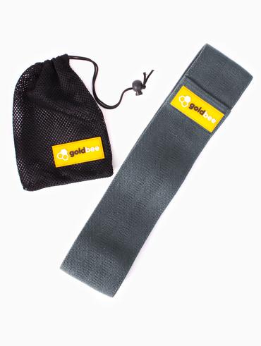 GoldBee Textilná Odporová Guma - Tmavo Sivá