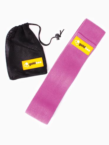 GoldBee Textilná Odporová Guma - Ružová