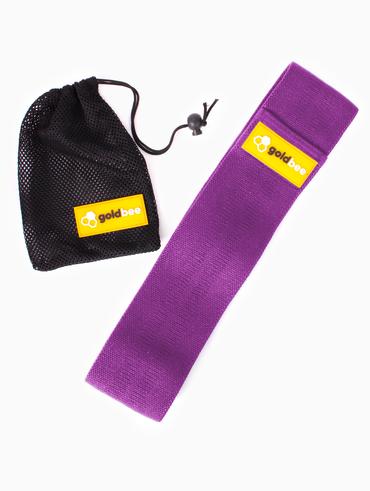 GoldBee Textilná Odporová Guma - Fialová