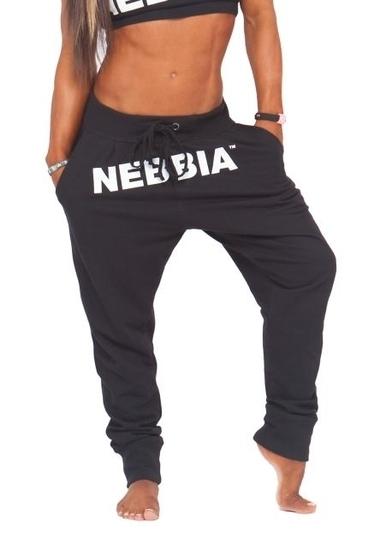 Nebbia Tepláky Čierné 274
