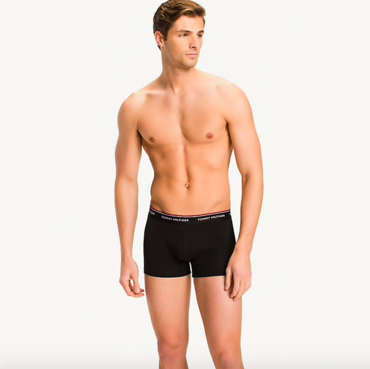 Tommy Hilfiger 3Pack Boxerky Black