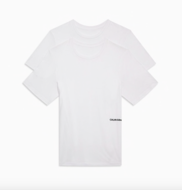 Calvin Klein 2Pack T-Shirts STATEMENT 1981 White