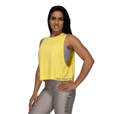 Better Boddies Tank Rockaway Seamless Lemon