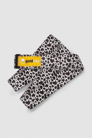 GoldBee Textilná Odporová Guma Dlhá- Leopard White