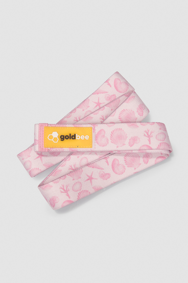 GoldBee Textilná Odporová Guma Dlhá - Rose Sea
