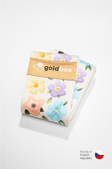 GoldBee Textilní Odporová Guma Kvetinová Záhrada