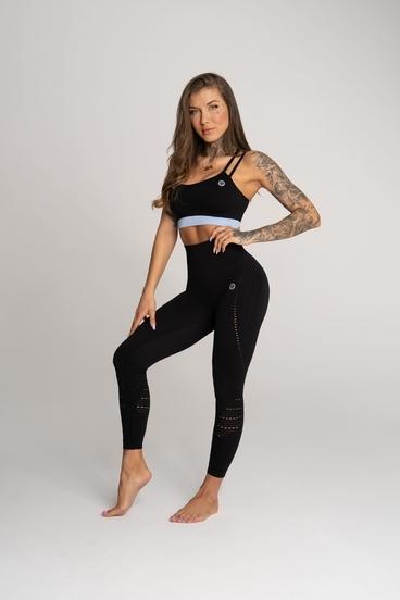 Gym Glamour Legíny Deynn Čierné