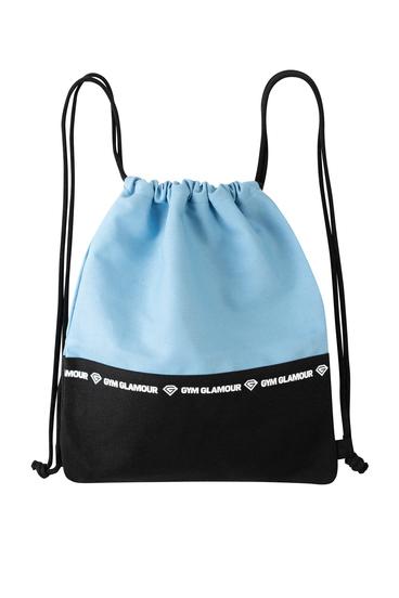 Gym Glamour Športový Vak - Blue