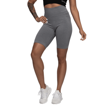 Better Bodies Kraťasky Rib Seamless Grey Melange