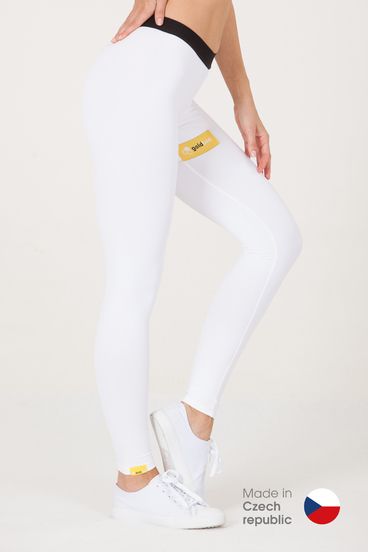 GoldBee Legíny BeSticker Inside White