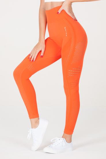 Naine 2.0. Bezešvé Legíny - Oranžové