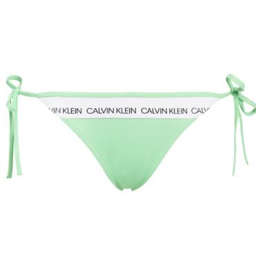 Calvin Klein Plavky CK Logo Green Spodný Diel