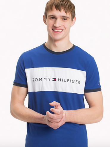 Tommy Hilfiger Pánske tričko s krátkymi rukávmi