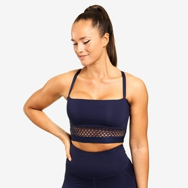 Better Bodies Podprsenka Waverly Mesh Dark Navy