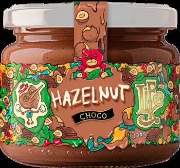 LifeLike Lieskovoorieškový krém s čokoládou - 300g