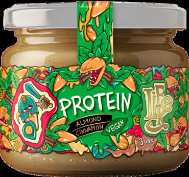 Lifelike Protein Mandľový Škoricový krém - 300g