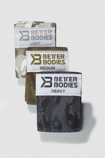 Better Bodies Odporová Guma 3Pack - Camo Combo