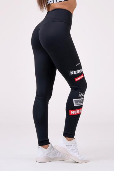 Nebbia Legíny 504 High Waist Labels - Čierné