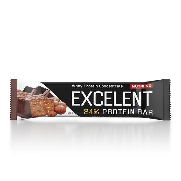 Nutrend Excelent Protein Bar Čokoláda S Oriešky 40g - 1