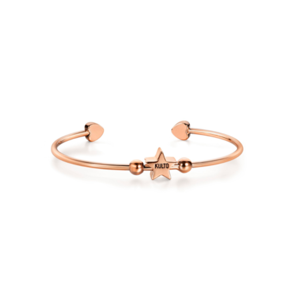 Kulto Náramok Rose Gold Star