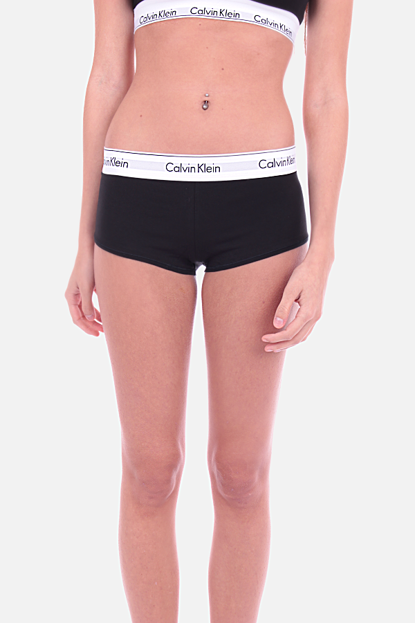 Calvin Klein Shorts Modern Cotton Black  - 1