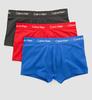Calvin Klein 3Pack Boxerky Red, Black & Blue - 1/4