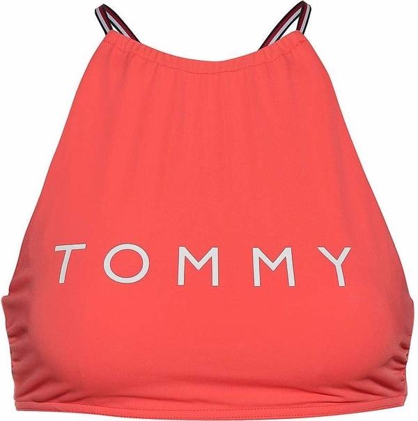 Tommy Hilfiger Plavky Logo Cropped Červené Vrchný Diel, M - 1