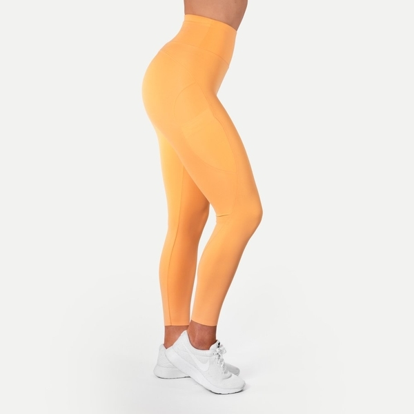 Better Bodies Legíny High Waist Light Orange, S - 1