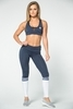 Gym Glamour Legíny Blue Melange & Socks, XS - 1/7