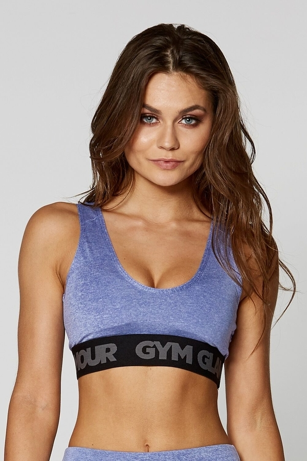 Gym Glamour Podprsenka Purple Basic - 1