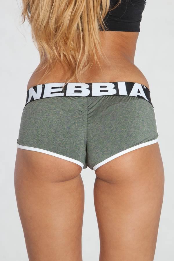 Nebbia Mini Kraťásky 266 Khaki - 1