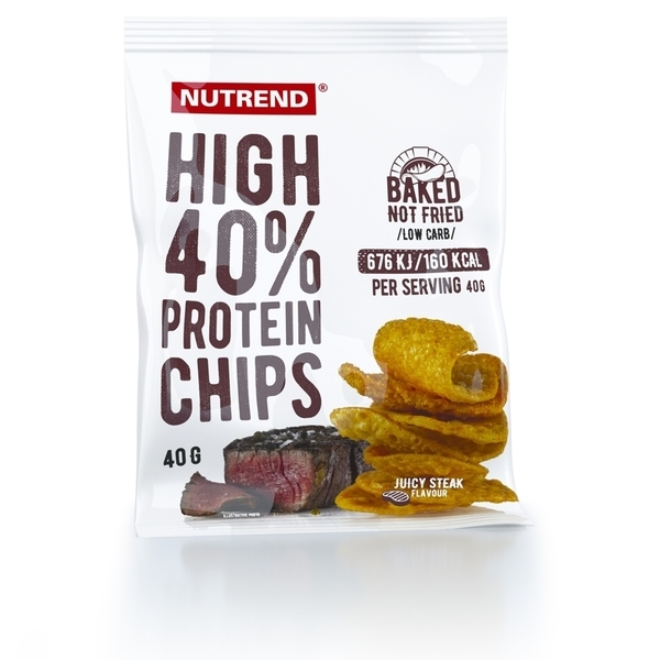 Nutrend Proteínové Chipsy Juicy Steak - 1