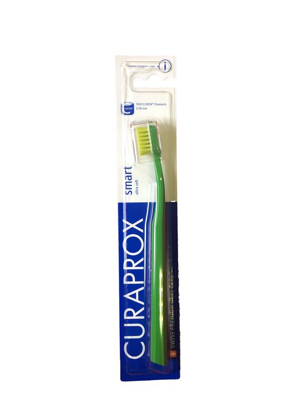 Curaprox Kefka Smart Ultra Soft Zelený
