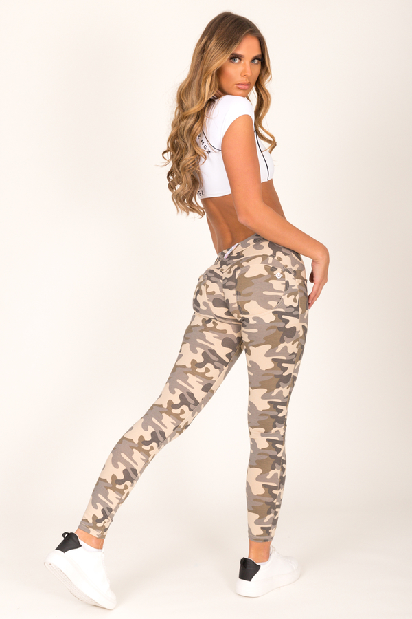 Hugz Camo Light Low Waist Jegging - 1