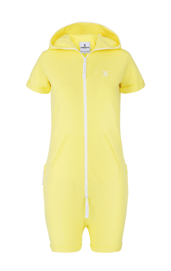 OnePiece Fitted Short Soft Yellow - 1