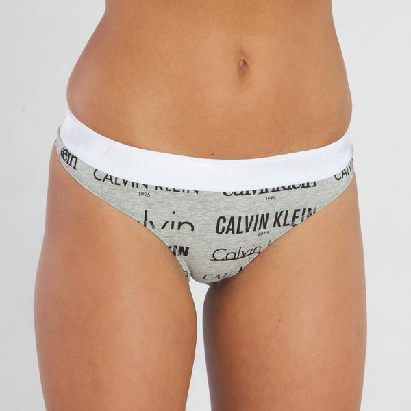 Calvin Klein Tangá Heritage Šedé - 1