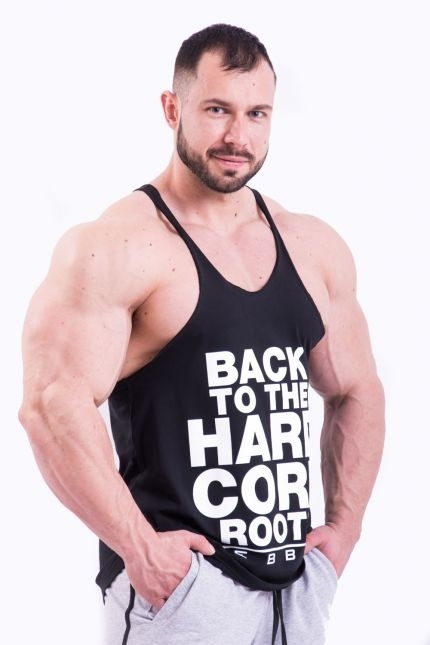 Nebbia HardCore Tielko 399 Čierné, L - 1