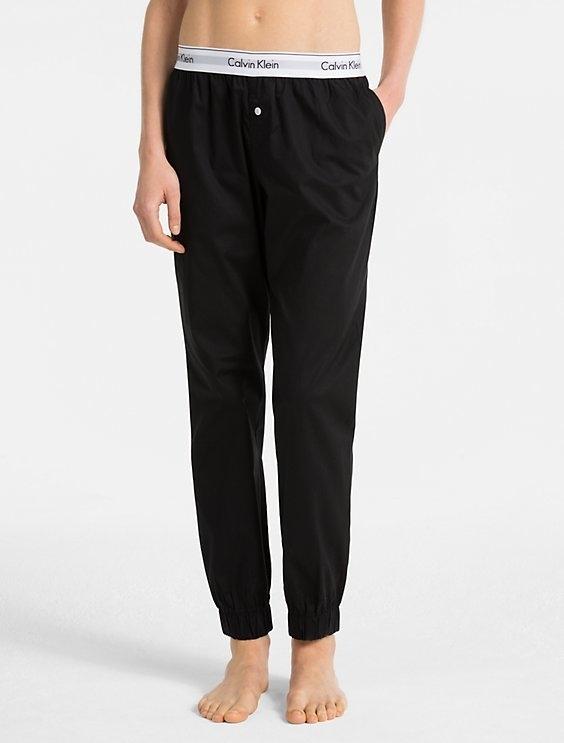Calvin Klein Sweatpants Čierne, M