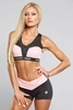 Kraťasky Gym Glamour Black & Pink - 1/3