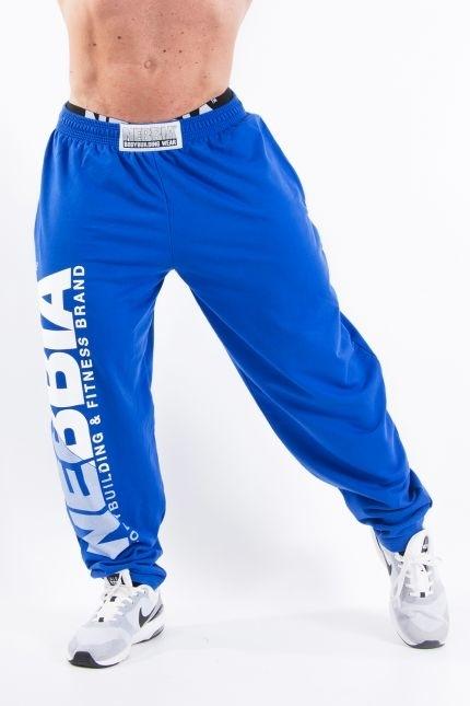 Nebbia HardCore Fitness Tepláky 310 Modré, XXL - 1